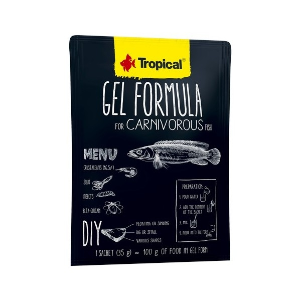 Tropical Gel Formula Carnivore 1000 ml