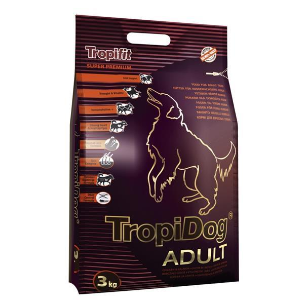 TropiDog Adult Medium and Large Breeds 3 kg