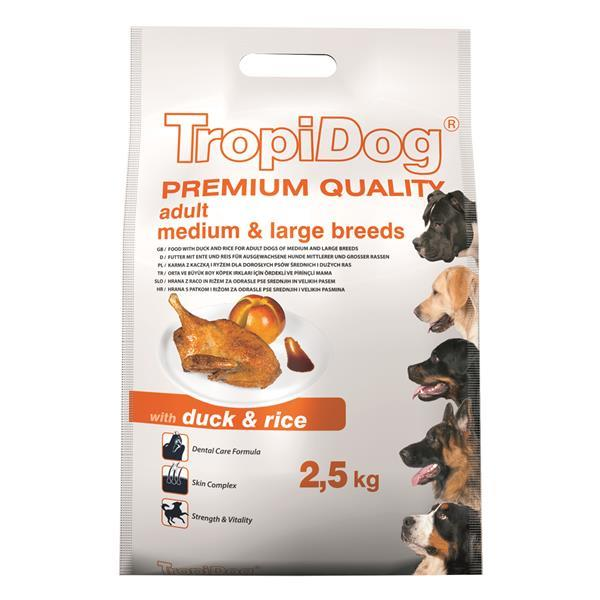 TropiDog Adult M&L raca 2,5 kg