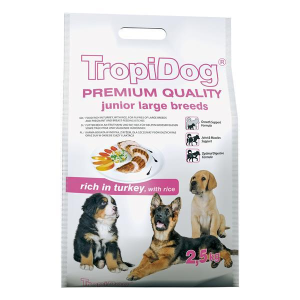 TropiDog Junior Large Breeds 2,5 kg