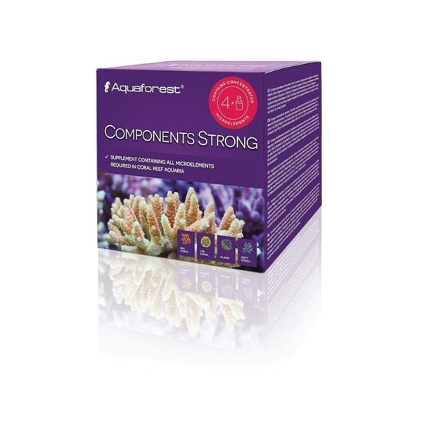 Aquaforest Components Strong 4x 75ml