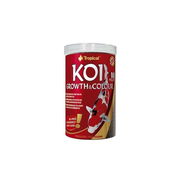 Tropical Koi Growth&Colour Pellete M 1000 ml