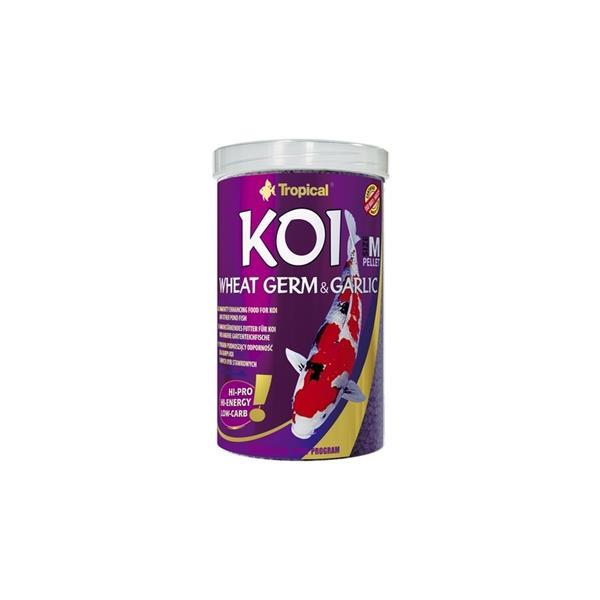 Tropical Koi Wheat Germ&Garlic Pellets M 1000 ml